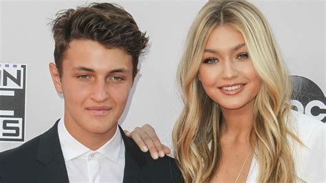 gigi hadid bella hadids brother is a model anwar hadid gigi and bella hadid s younger brother anwar 8 things to