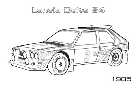 Coloring Pages Of Rally Cars | rally cars car coloring pages