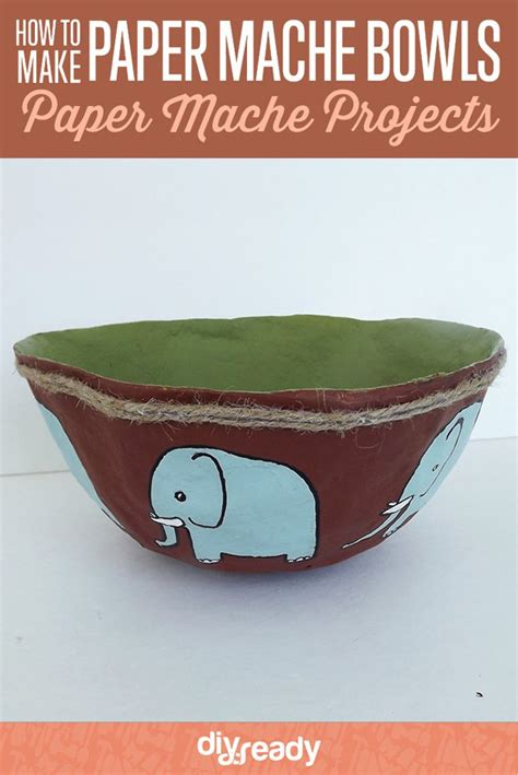 How To Make Paper Mache Bowls - how to make paper mache bowl diy projects craft ideas