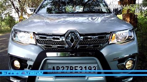 renault kwid silver colour renault kwid accessories