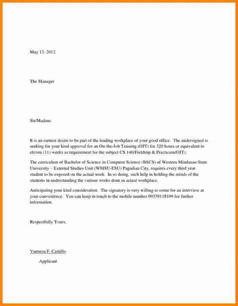 cover letter for seeking employment application letter for seeking