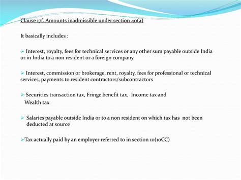 section 40 income tax act ppt tax audit under section 44ab of income tax act 1961