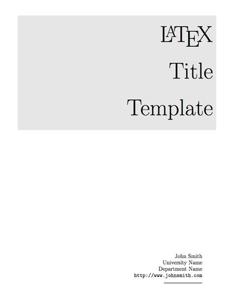 page cover photo template templates 187 title pages