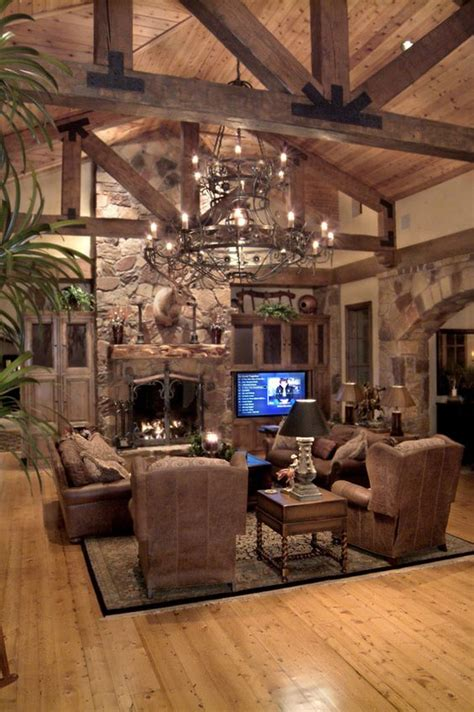Rustic Luxe Living Room by The World S Catalog Of Ideas