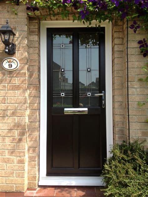 Brown Upvc Front Door Best Selling Upvc Door In 2013 Available In Many Colours Https Upvcfabricatorsindelhi