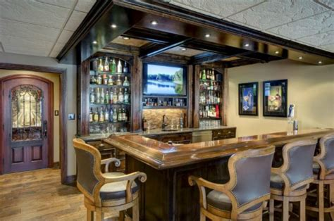 kansas city basement bar remodel with interior design