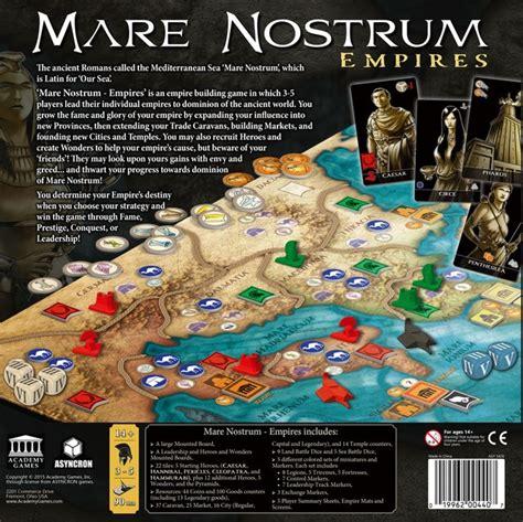 Mare Nostrum Empires mare nostrum empires deskov 233 hry planeta