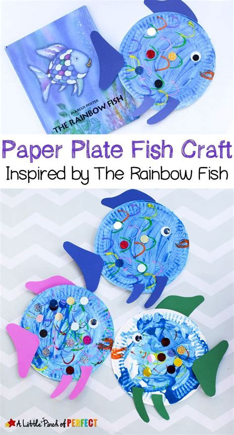 rainbow fish pattern for kindergarten 3422 best children s book related crafts and activities