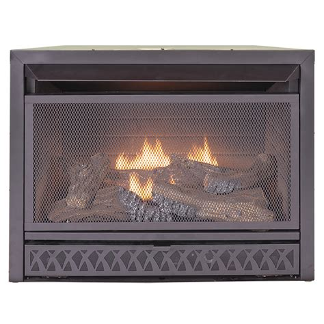 procom fireplaces 29 in vent free dual fuel firebox