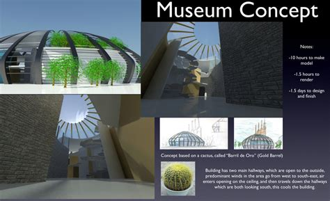 Museum Concept Sheet By A01087483 On Deviantart Architectural Design Concept Sheets