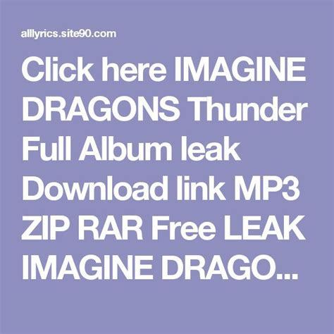 download mp3 imagine dragons thunder 25 best ideas about imagine album on pinterest too