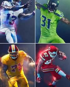 nfl color rush uniforms which 9 teams won t get a chance