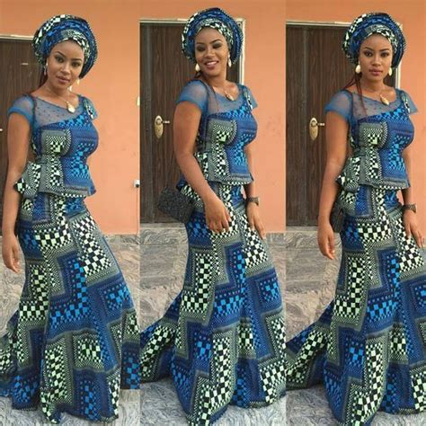 latest nigeria ankara style blouse and skirt latest ankara skirt and blouse styles 2017 beautiful nigeria