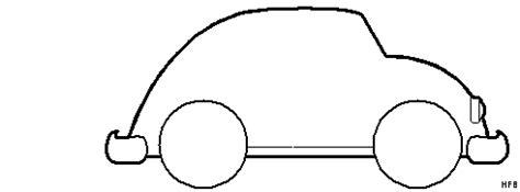 Ausmalbild Ente Auto by Auto Ente Von Der Seite Ausmalbild Malvorlage Auto