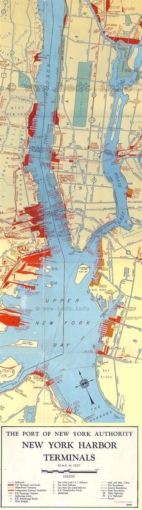 map new york harbor return to the mainpage