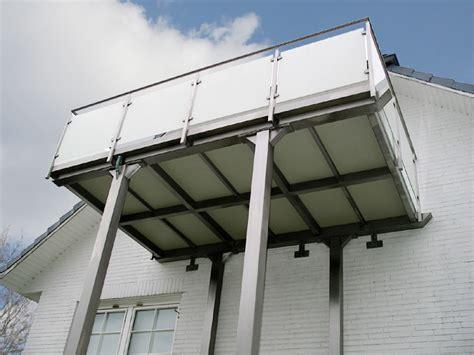 edelstahl balkon bartz metallbau balkon vorstellbalkon aus edelstahl