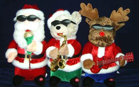 animated santa band animated band trio animatronic wiki fandom powered by wikia