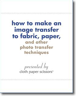 How To Make Fabric Transfer Paper - how to make an image transfer to fabric paper more