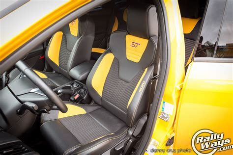 ford focus st seats 2014 ford focus st review experience rallyways