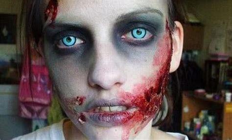 imagenes de halloween zombies maquillajes de zombies para este halloween im 225 genes