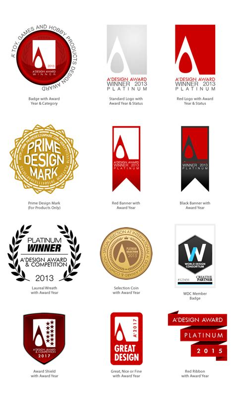 logo design contest winners a design award and competition award logo and badges