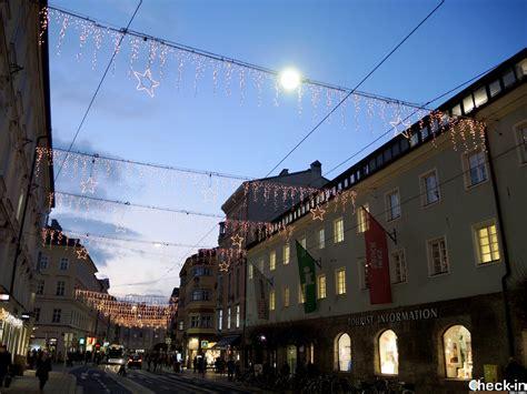 ufficio turistico innsbruck viaggio di 4 giorni in austria per visitare i mercatini di