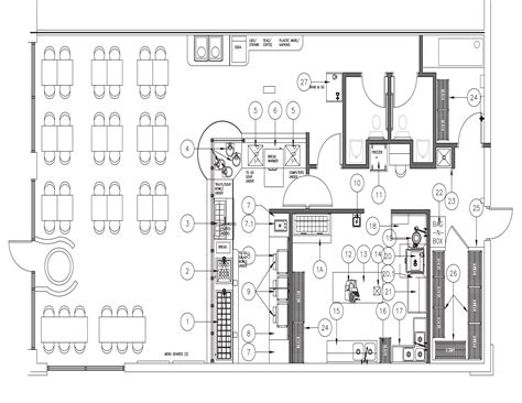 desain layout cafe open kitchen restaurant layout afreakatheart