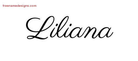 liliana archives free name designs