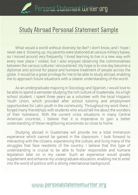 1000 ideas about personal statements on