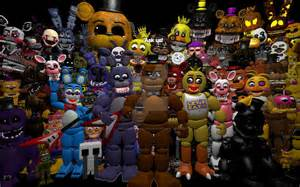 Ask all the fnaf characters open by justarandomgourgeist on