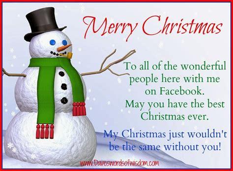 daveswordsofwisdomcom merry christmas   facebook family  friends