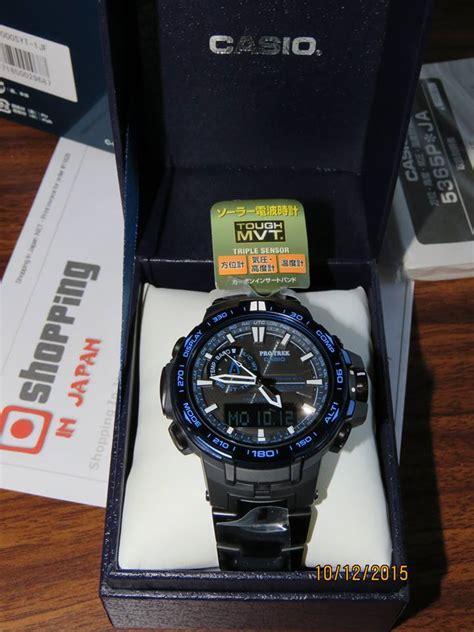 G Shock Protrek Prw 6000 Blue protrek prw 6000syt 1jf titan blue moment 8 casio