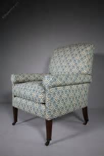 large howard sons antique upholstered armchair
