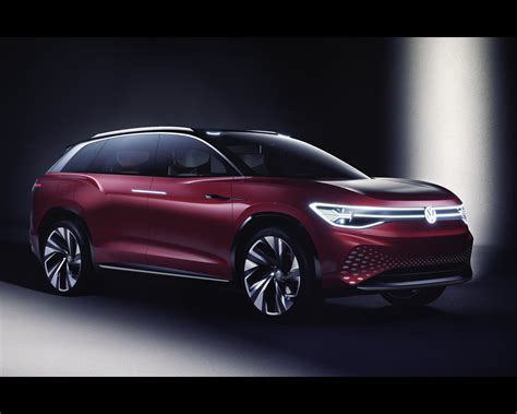 Volkswagen 2019 Electric by Volkswagen I D Roomzz Electric Suv Concept 2019