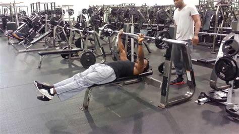 20 rep bench press 75 high reps lightweight bench press youtube