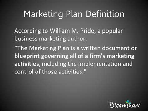 design proposal definition understanding the marketing plan