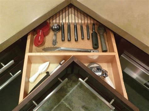 custom kitchen cabinet drawers solutions for blind corner cabinets