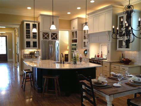 open kitchen dining room interior floor planving home