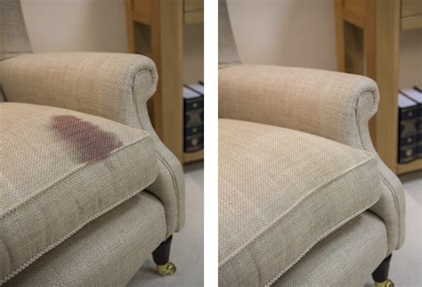 red wine stains on sofa before and after photos