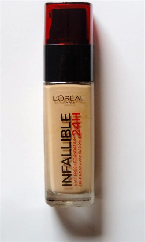 Loreal Foundation Infallible l oreal infallible 24h foundation review