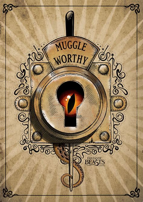 fantastic beasts muggle worthy mightyprint wall