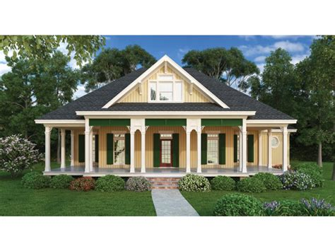 eplans country cottage house plan wraparound porches
