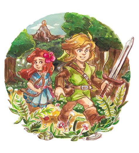 link can you take me home by kichisu on deviantart