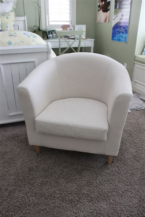 small chair slipcover simple barrel chair slipcovers homesfeed
