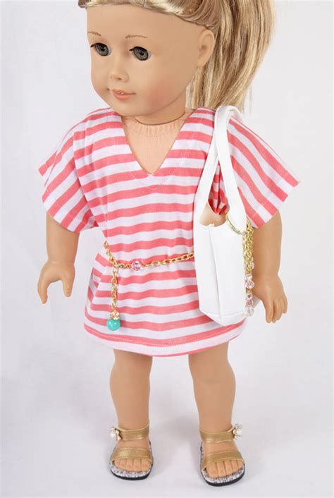Wardrobe For Dolls Clothes 18 Inch by Fits Like American Doll Clothes 18 Inch By