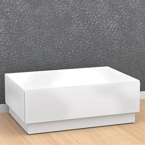 coffee table with storage in white 221703
