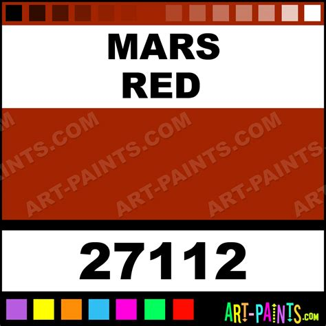 mars artists paints 27112 mars paint mars color rgh artists paint a22300