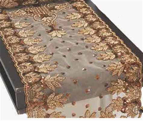beaded table runners wholesale ntb95 72 gold beaded table runner or table cloth