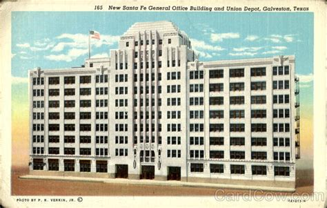 Office Depot Galveston by New Santa Fe General Office Building And Union Depot