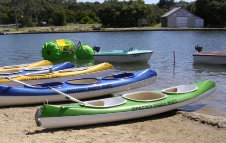 paddle boats victoria park a day at anglesea melbourne